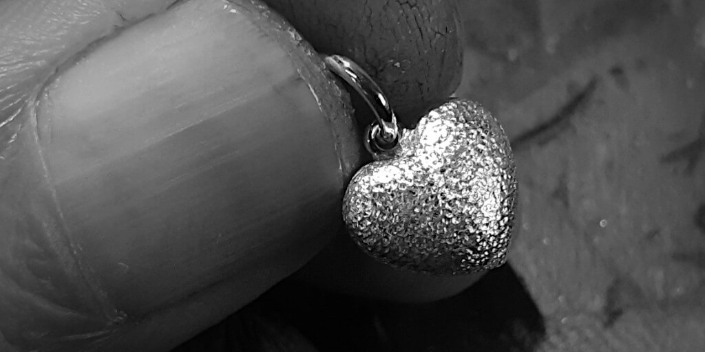 STERLING SILVER CANDY HEART
