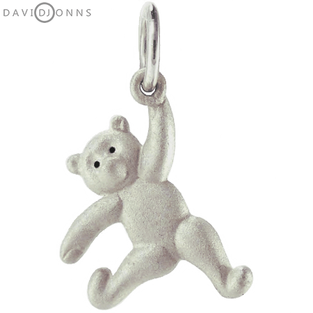 Dancing Teddy Bear Charm Left