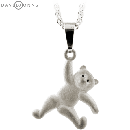 Dancing Teddy Bear Pendant