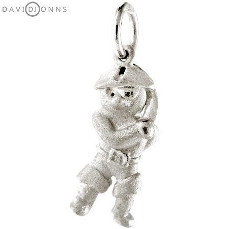 Teddy Bear Pirate Charm