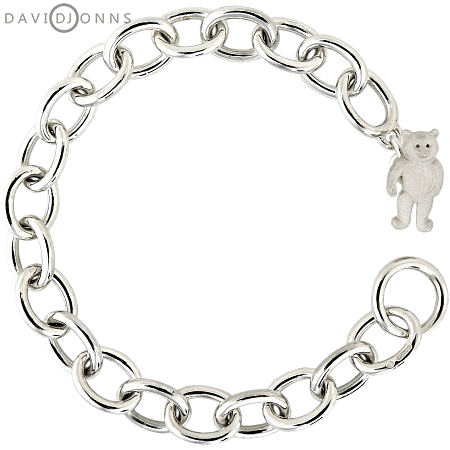 Teddy Bear Toggle Bracelet