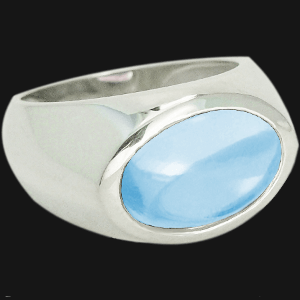 Topaz Dome Ring